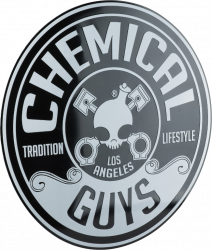 Chemical Guys Metal Tin Sign