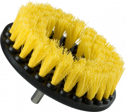 Chemical Guys Carpet Brush w/ Drill Attachment. Medium Duty (Yellow)