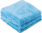 Chemical Guys Happy Ending Blue Edgeless Microfiber Towel 3-