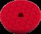 Chemical Guys Hex-Logic Quantum Application pad. Red. 140mm