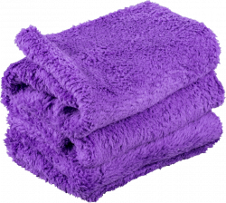Chemical Guys Happy Ending Purple Edgeless Microfiber Towel