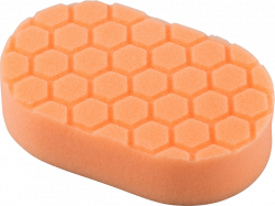 Chemical Guys Hex-Logic Orange Cutting Hand Pad