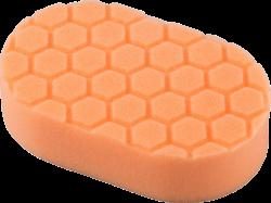 Chemical Guys Hex-Logic Orange Cutting Hand Pad