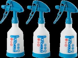 Kwazar Mercury 360 Pro + Double-Action Spray Bottles 0.5L 3-pakk