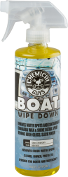 Chemical Guys Marine and Boat Wipe Down. Quick Detailer and