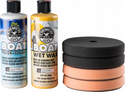 Chemical Guys Marine and Boat Polish and Wax Kit