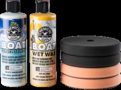 Chemical Guys Marine and Boat Polish and Wax Kit