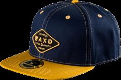WAXD Snapback Caps Blue/Beige