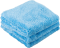 Chemical Guys Happy Ending Blue Edgeless Microfiber Towel 3-