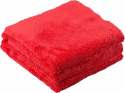 Chemical Guys Happy Ending Red Edgeless Microfiber Towel 3-pack