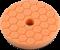 Chemical Guys Hex-Logic Orange Quantum Medium-Heavy Cutting Pad. 140mm