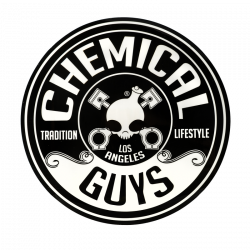 "Chemical Guys Logo Sticker (5"" Die Cut Circle)"