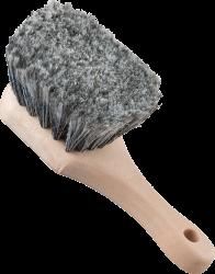 Chemical Guys Short Handle Wheel Brush (Grey)