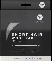 WAXD Short Hair Wool Pad 135/20mm
