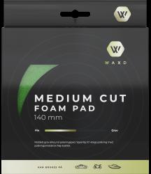 WAXD Medium Cutting Foam Pad 140/20mm