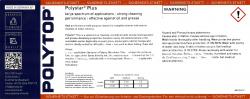 Polytop - Etiketter for merking