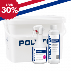 Polytop Exterior Wash Kit m/bøtte, felgrens og såpe