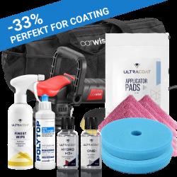 CarWise 1-stegs startpakke med 3 års coating